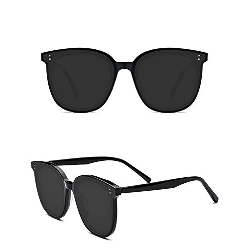 HAOQI Moda Clásico Unisex Deportivas Gafas De Sol,Pesca Ciclismo Conducir Gafas,Protección UV Elegantes Vintage Gafas,Gafas-Negro 15.2x5.6cm(6x2inch)