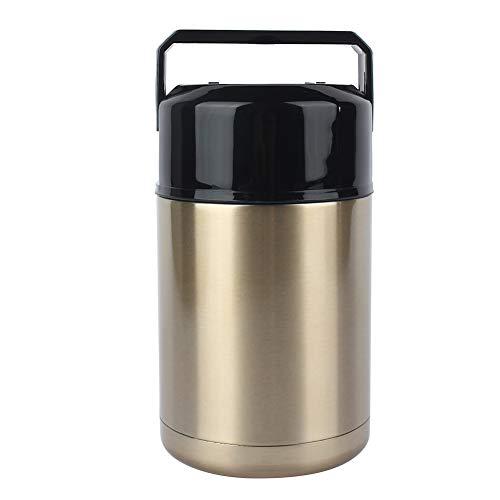 1L絶縁カップ、1000mlステンレス鋼真空魔法瓶ランチボックスくすぶるマグ絶縁スープコンテナー、二重断熱カップ、魔法瓶ランチボックス