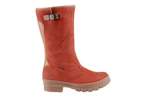 Hot Sale KEEN Women's Willamette WP Rain Boot,Burnt Orange,7 M US