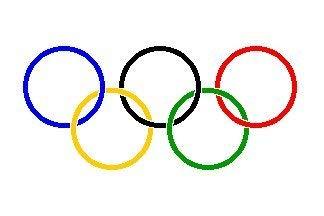 UB Fahne/Flagge Olympia Olympische Spiele 60 cm x 90 cm Neuware!!!