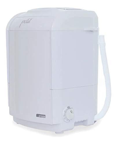 Mini Lavadora de Roupas Portátil Tanquinho Petit Branca 127v Até 1,2kg de Roupas Com 5 Modos de Lavagem e Baixo Consumo de Energia e Água