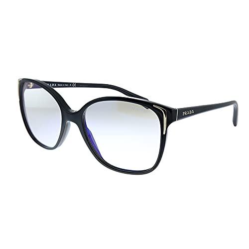 Prada - Gafas de sol unisex para adulto PR 01OS Balck 55