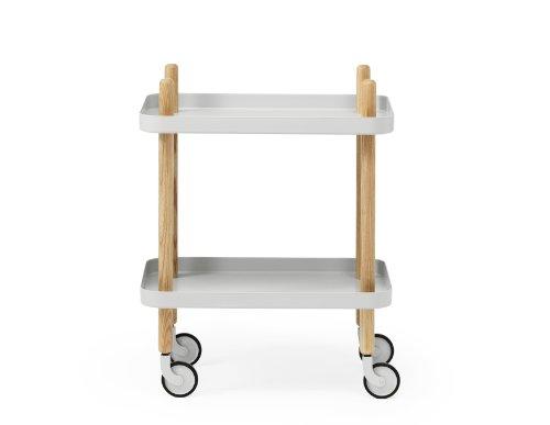 WSCHILLIG Der Tisch ist auch in einer quadratischen Ausführung erhältlich