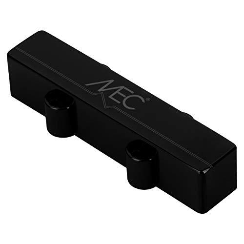 MEC Active J-Style - Pastilla para bajo (pantalón corto, cubierta metálica, cuello de 4 cuerdas, cromada), color negro