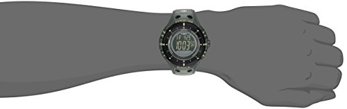 Timex - T49612 - Montre Homme - Quartz Résine Vert - Cadran Numérique