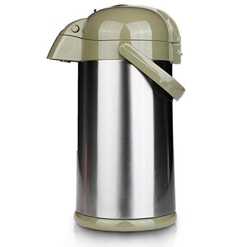 Jingyinyi pneumatische thermosfles isolatiepot, huishoudelijke thermoskan, grote capaciteit glazen voering duurzaam