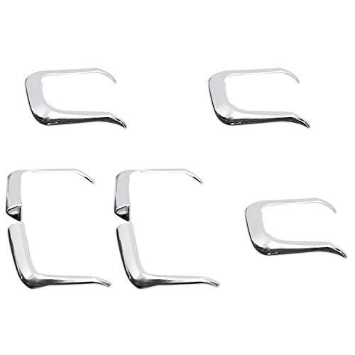 Fransande - Funda para ventana de elevación, botón interruptor de lentejuelas, adhesivo para A3 A4 Q3, Q5, accesorios