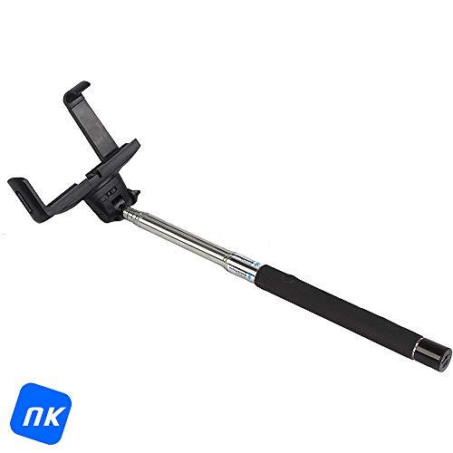 NK BS3039 - Palo para Selfie con mástil Extensible telescópico de 1...