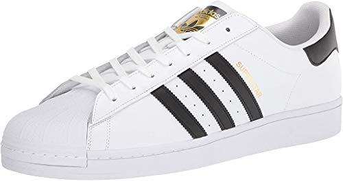 adidas Originals mens Superstar Sneaker, Core White, 9.5 US