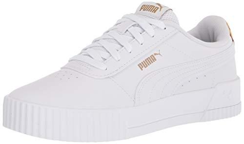 PUMA Carina, Zapatillas para Mujer, Blanco, 41 EU