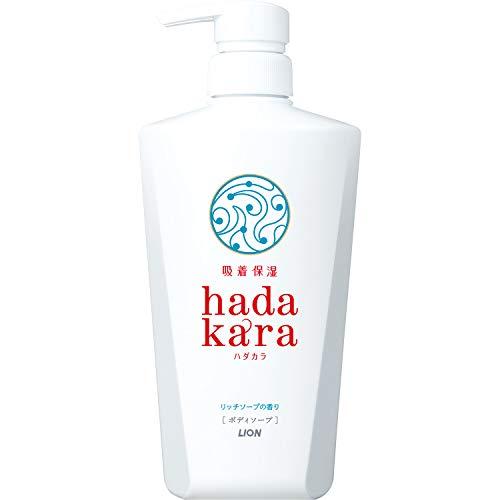 ハダカラ ボディソープ リッチソープの香り 500ml