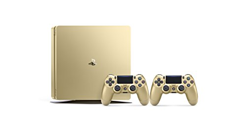Sony PS4 PlayStation 4 Slim 500GB Gold + 2 Dualshock