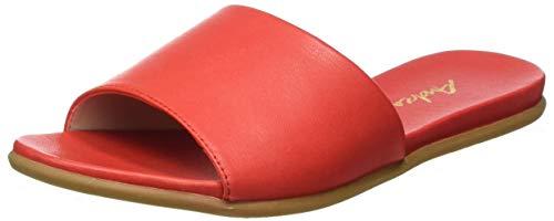 Andrea Conti Damen 1749600 Pantoletten, Rot (Rot 021), 37 EU