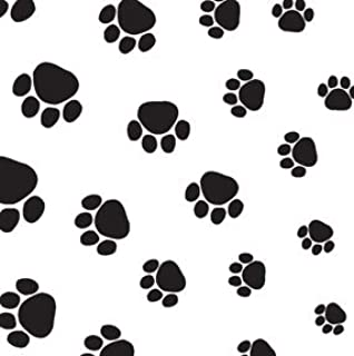Puppy Paws Print Tissue Paper for Gift Bags Wrapping 20 inch x 30 inch, Pack of 20
