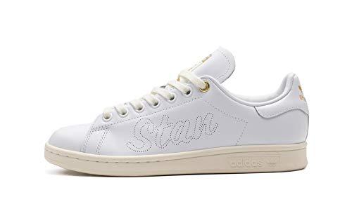 adidas Stan Smith, Sneaker Mujer, Off White/Footwear White/Gold Metallic, 36 2/3 EU