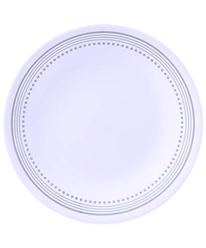 Corelle Livingware 16-Piece Dinnerware Set, Crimson Trellis, Red/White