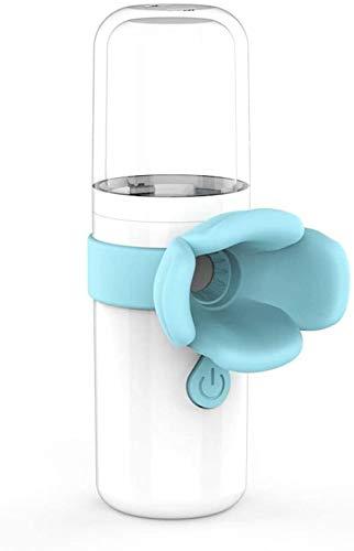 LLDKA Tragbare Vaporizer Luftbefeuchter Gesichtsgesichtsfeuchtigkeitsspray Moisturizing Fliegen Spray,Blau