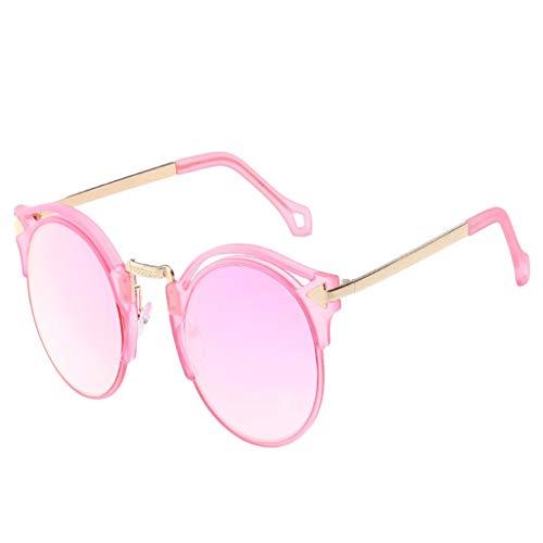 Julhold Gafas de sol polarizadas ligeras gafas de sol de verano unisex colores dulces gafas de sol de gran tamaño protección UV para ciclismo, esquí, conducción de coche, pesca, correr, color, talla L