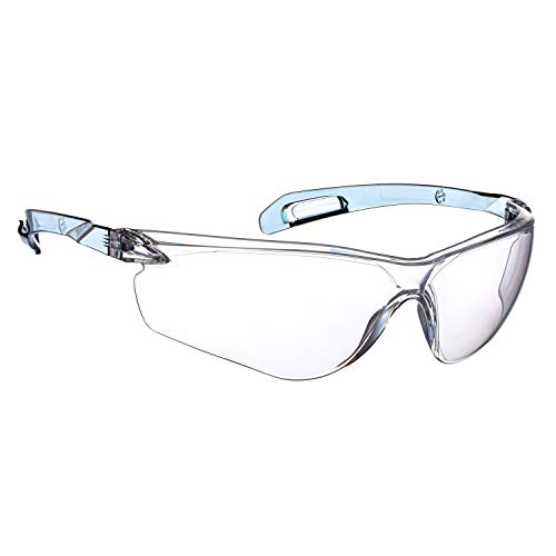NoCry Lightweight Protective Safety Glasses with ANSI Z87.1 Rated, Clear, Scratch Resistant, Anti Fog Lenses, Suitable for Indoor or Outdoor Use