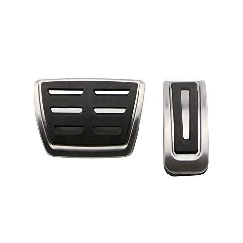 XQRYUB Car Pedals Pedal Covers,forVolkswagenPolo Bora Jetta Golf 4 MK4 IV Jetta MK4 Lavida,for Audi A1 A3 TT,for Skoda Fabia Rapid