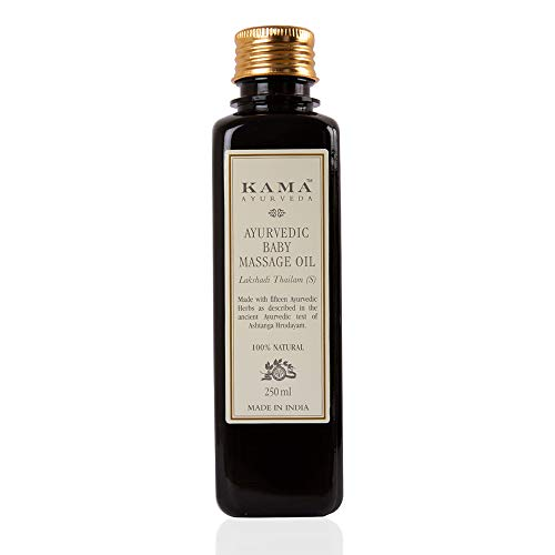 Kama Ayurveda Ayurvedic Baby Massage Oil, 21.7 Fl Oz
