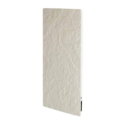 Valderoma Tactilo radiator, 1300 W, verticaal, 50 x 100, leisteen, wit