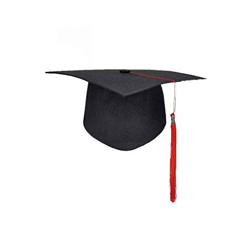 Guangcailun Escuela de graduación borlas Cap Birrete Universidad Licenciatura Maestro Médico Académico Sombrero
