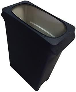 Spandex & Table Linens Slim Jim Stretch Spandex Trash Can Cover, 23 Gallons Black