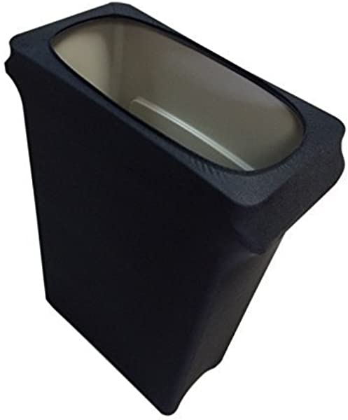 Spandex Table Linens Slim Jim Stretch Spandex Trash Can Cover 23 Gallons Black