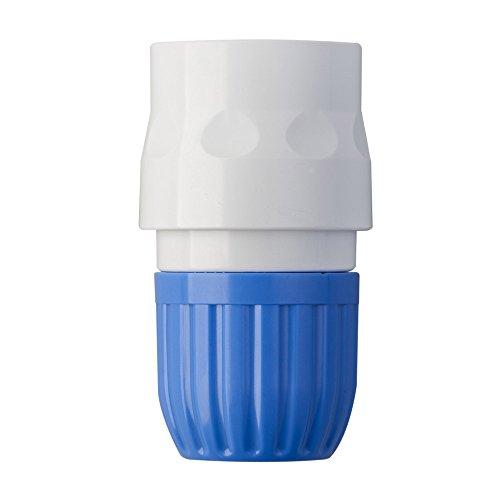 Takagi slangstuk 13 mm tuinbewateringsaccessoires, blauw/wit, 1/2 inch