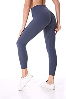 Yoga Pants for Women, Mermaid Curve Slim, Yoga Pants for Women Plus Size Stretch Ultra High Waist Women Yoga Pants for Fitness Sports (Color : Gray, Size : XS)