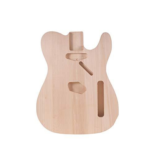 DIY Componentes guitarra Cuerpo DIY guitarra eléctrica de cuerpo B de madera...