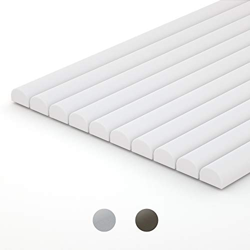 10-Pack Peel and Stick Tile Trim, 12