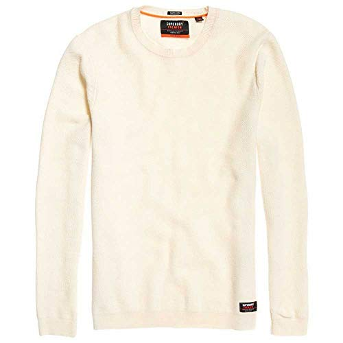 Superdry trui heren Supima Cotton Crew Cloud