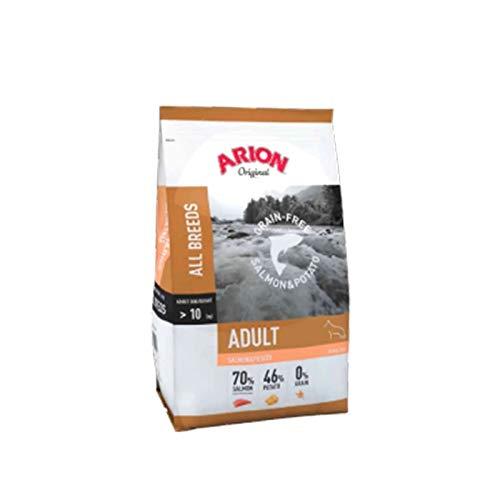 Pienso para Perros Sin Granos. Máxima Calidad. Original Adult Grain Free Small Breed SALMÓN y Patata, 3 kg