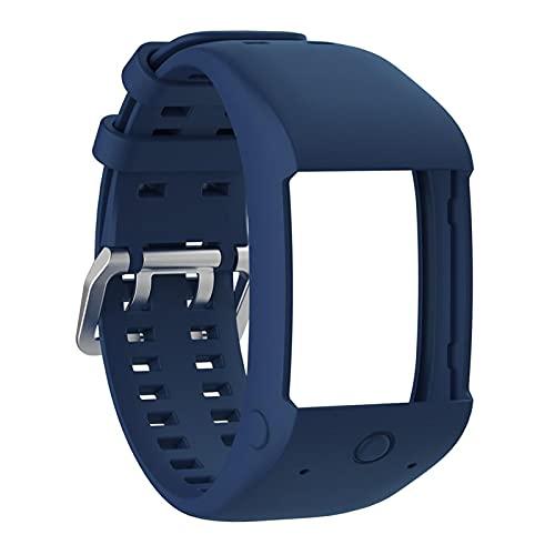 YNLRY Cómoda Correa de muñeca de Reloj de reemplazo de Silicona para Polar M600 Smart Watch Strap Strap Dropship 8.2 (Color : Sapphire)
