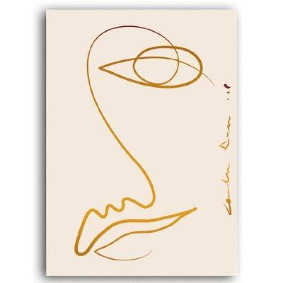 Kunstdruck auf Leinwand, moderne abstrakte Malerei, Poster und Drucke, Galerie-Bilder für Wohnzimmer, Inneneinrichtung, Naturfaser, a, 10x15 cm no frame