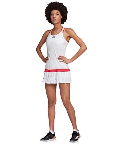adidas womens Tennis Y-Dress HEAT.RDY White Large