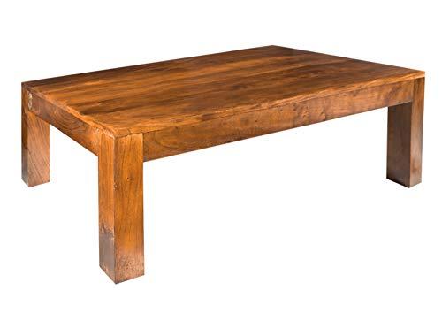 Massivmoebel24.de Oxford Tavolino da Salotto Cubus #0451 Acacia Miele Massiccio