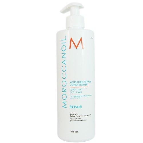 Moroccanoil Moisture Repair Conditioner For Weakened and Damaged Hair Salon Product 500ml16.9oz Haarpflege, Original-Duft