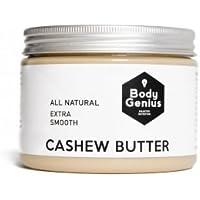 Body Genius CASHEW BUTTER - Mantequilla Natural y Suave de Anacardo. Made in Spain. 500gr