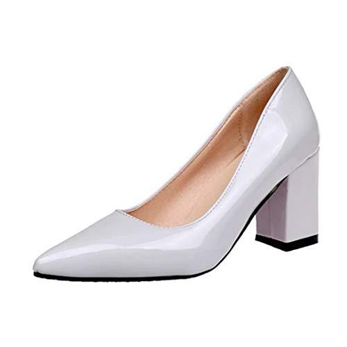 Zapatos de tacón Alto con Punta Estrecha para Mujer Zapatos Sexis de...
