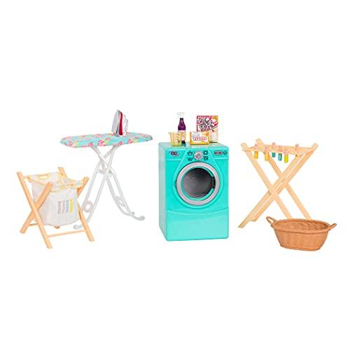 Our Generation- Equipamiento Lavandería para muñecas, Color (Battat BD37979Z)