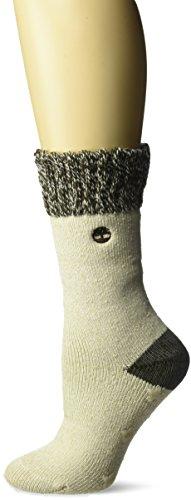 Timberland Damen Cabin Basic Socken, hellbeige, Einheitsgröße