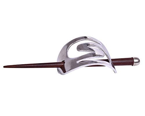 iCraftJewel Abstract Holder Sticks Hair Bun Wood Updo Boho Organic Hairfork Pins Stick Barrettes Hair Accessory
