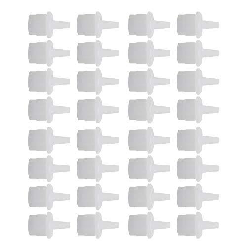 styleinside 100 Piezas de pestañas Pegamento Adhesivo Tapa tapón de pestañas Pegamento Botella Accesorios de Repuesto