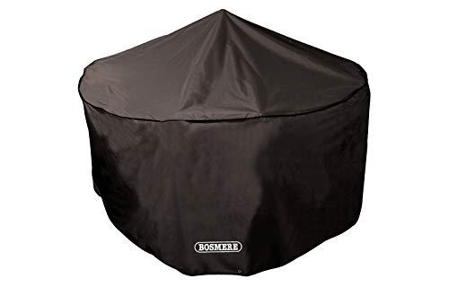Bosmere Protector 6000 Storm Black Extra Large 4 Seat Circular Patio Set Cover - Black, D515XL