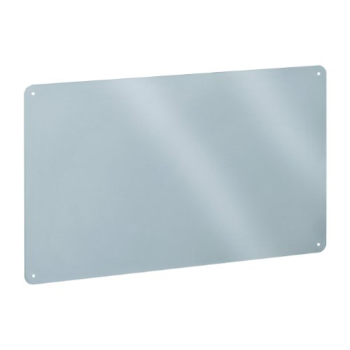 STEELMASTER Flat Style Magnetic Board, 18.5 x 11.5 Inches, Silver (270111950)