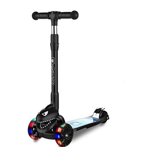 JKCKHA. Kinderfahrrad Kinderinnen Tretroller 3~15 Vorschul Roller Kind yo Auto Folding Roller im Freien...