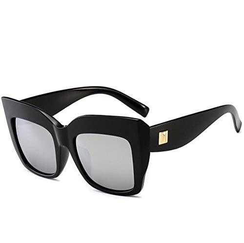 ZZZXX Funda Gafas De SolMarco Cuadrado Retro Correr, Andar En Bicicleta,Protección Uv400, Varios Colores Disponibles,Con Caja De Regalo Y Paño Para Vasos